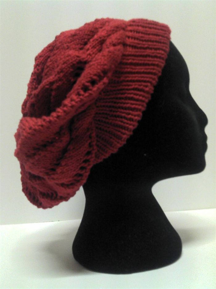 Handknit Ruby Beret/Tam - Made to Order | Meaghan Louise | madeit.com.au