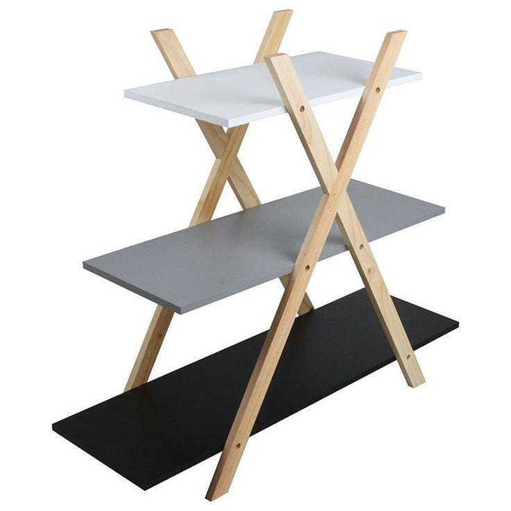Wooden shelf ladder www.inart.com
