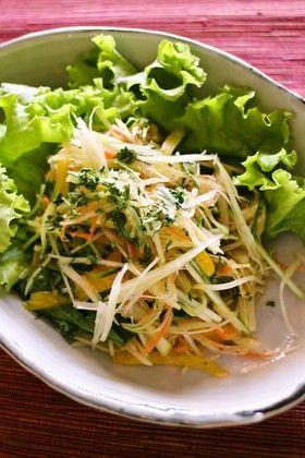 """あさイチ」で紹介!""""デトックス""""力No.1!ほとばしる酵素が見える食べ物 ... 青パパイヤのポピュラー料理といえばタイのサラダ・ソムタム"""