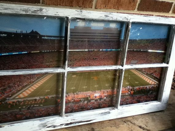 University of Tennessee Football Field Window by WindowsbyLauren