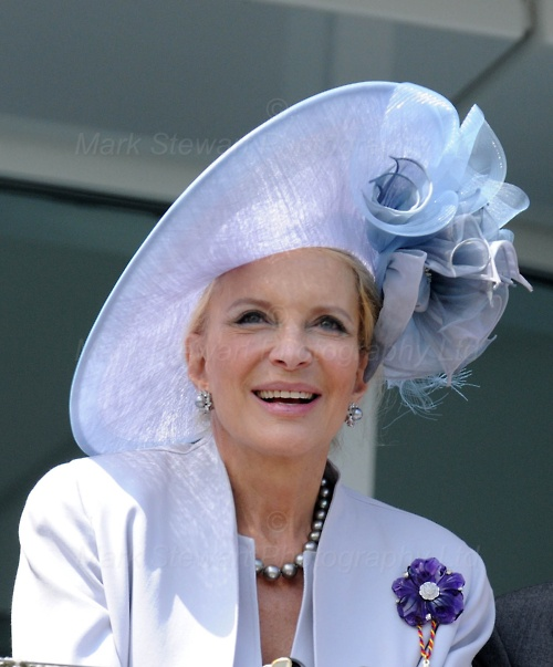 Princess Michael of Kent looking absolutely superb, and NOT her age, at the Epsom Derby celebrations for the Queen's Diamond Jubilee