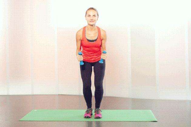 Try This 35-Minute HIIT Workout That's Gentle on Achy Knees