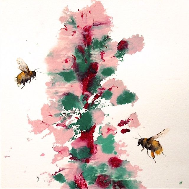 Busy as a Bee #BeetlesBugsBirds #KateOsborne
