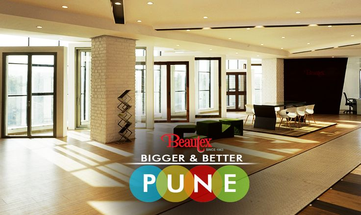 Pune has been home to our flagship store displaying array of premium products and brands in flooring, windows and cladding, all under one roof. Do visit our newly opened display store http://bit.ly/1U3DMe3 #WhenInPune #ShowroomLaunch #BeautexLuxuryConcepts #Since1963 #Windows #doors #flooring #cladding #decking #panindiapresence #PonzioAluminium #Italy #Parador #Germany #Weathertex #Australia #AllUnderOneRoof #Interiors…