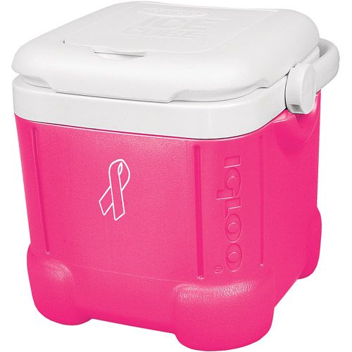 Igloo Pink Ribbon Ice Cube 14 Personal Cooler Pink
