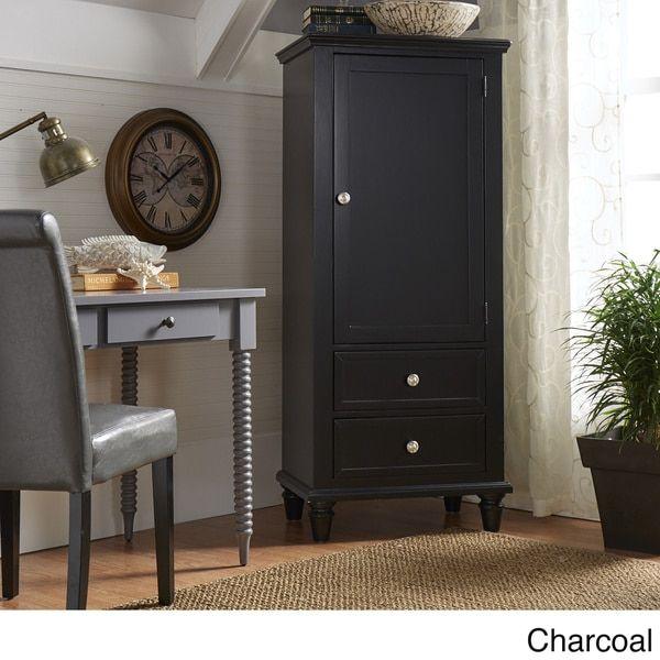 Preston Wooden Wardrobe Storage Armoire by IQ KIDS