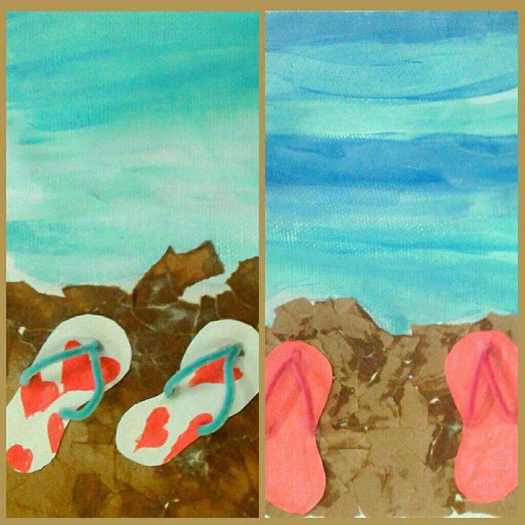 Summer Memories Elementary Art Project
