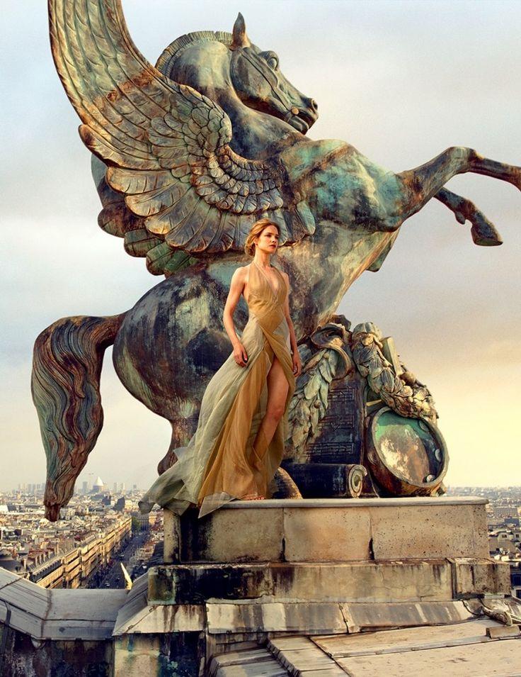 Vogue US November 2014 | Natalia Vodianova by Annie Leibovitz