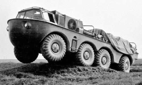 carros secretos do Exército Soviético