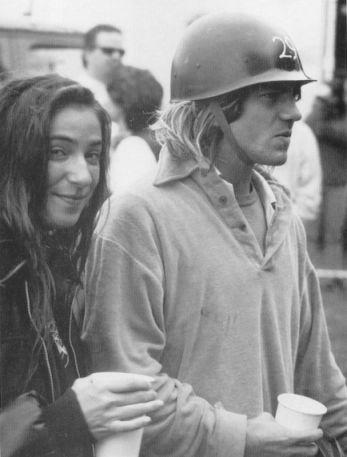 Eddie Vedder & wife Beth Liebling.