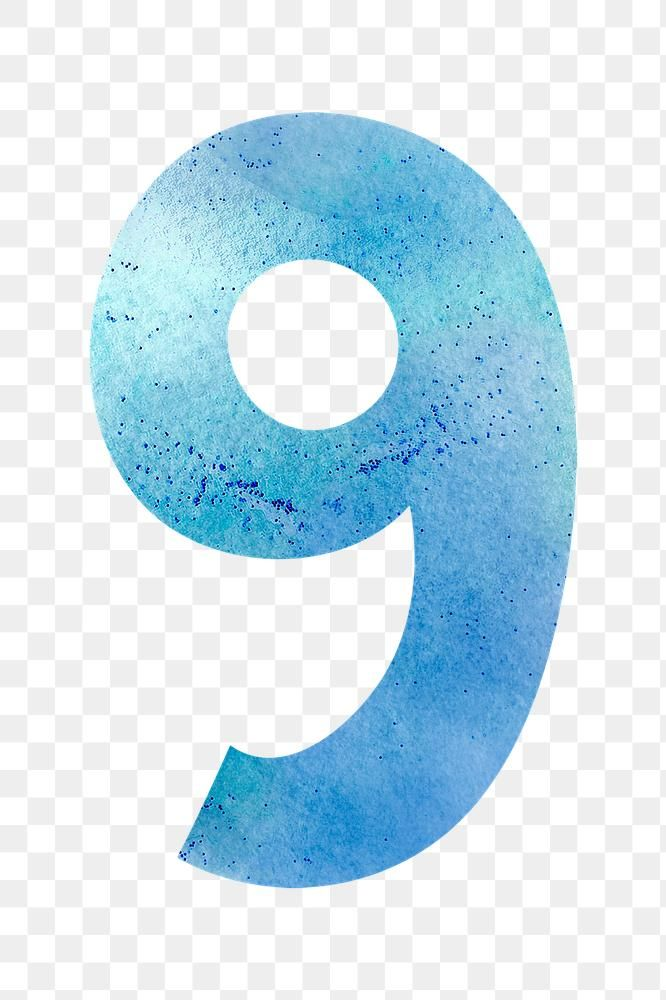 Number 9 Pastel Font Png Watercolor Texture Typography Free Image By Rawpixel Com Marinemynt Watercolor Texture Free Png Png