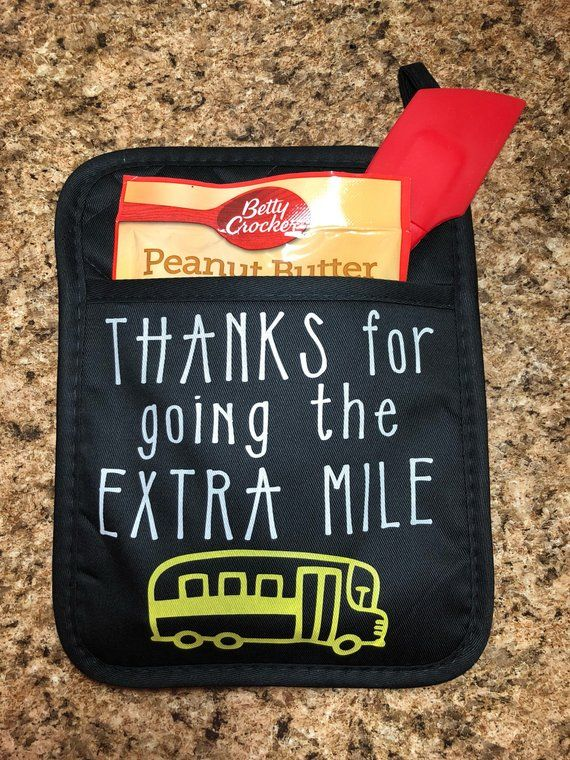 homemade gifts for bus drivers