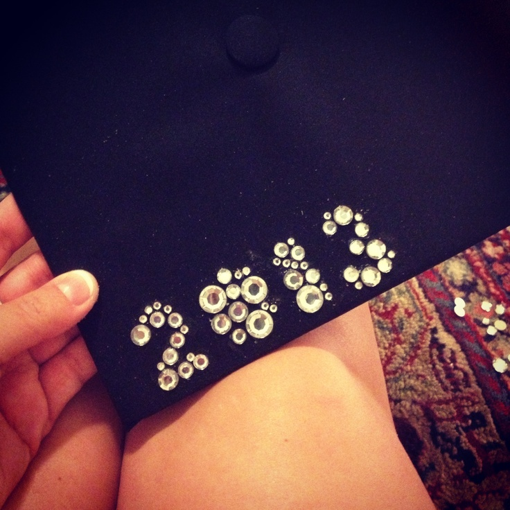 DIY Graduation Cap!-I'm thinking with buttons instead..