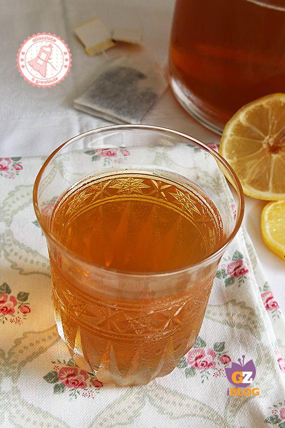 Tè FREDDO BOLLITO IN FRIGO