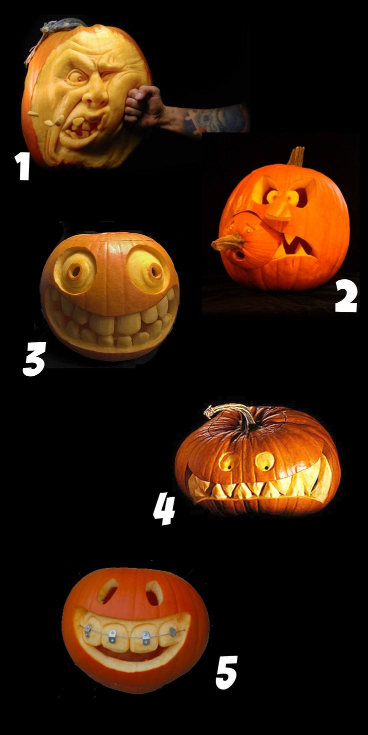 25+ best Funny pumpkin carvings ideas on Pinterest | Funny ...