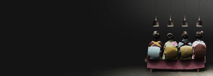 Sospensione da interno in metallo/frassino Sombrero   Torremato