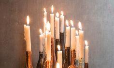 Libelle Kerst Atelier: van wijnfles tot kandelaar - Libelle Daily