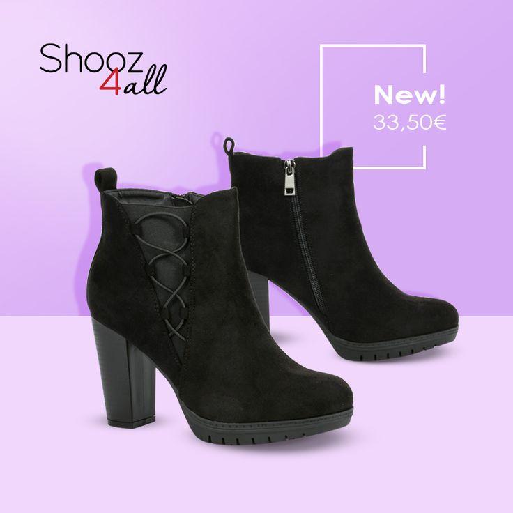 New! Μαύρα βελουτέ μποτάκια! http://www.shooz4all.com/el/gynaikeia-papoutsia/mavra-veloute-mpotakia-6520-f20-detail #shooz4all #new #mpotakia