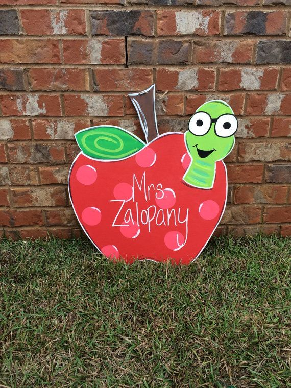 Hey, I found this really awesome Etsy listing at https://www.etsy.com/listing/218338007/teacher-door-hanger