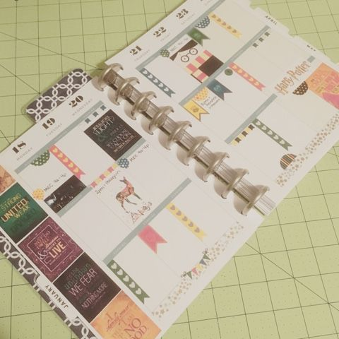 Interrobang Designs: Free Printable: Harry Potter Planner Stickers