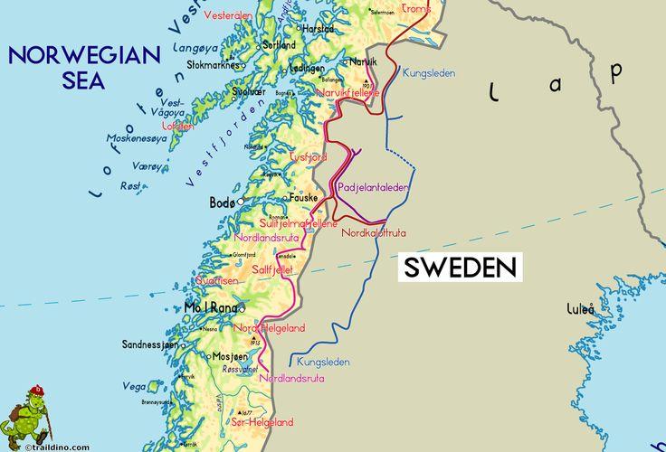 kungsleden maps - Recherche Google