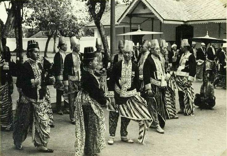 18 March 1940. Princes of Yogyakarta.