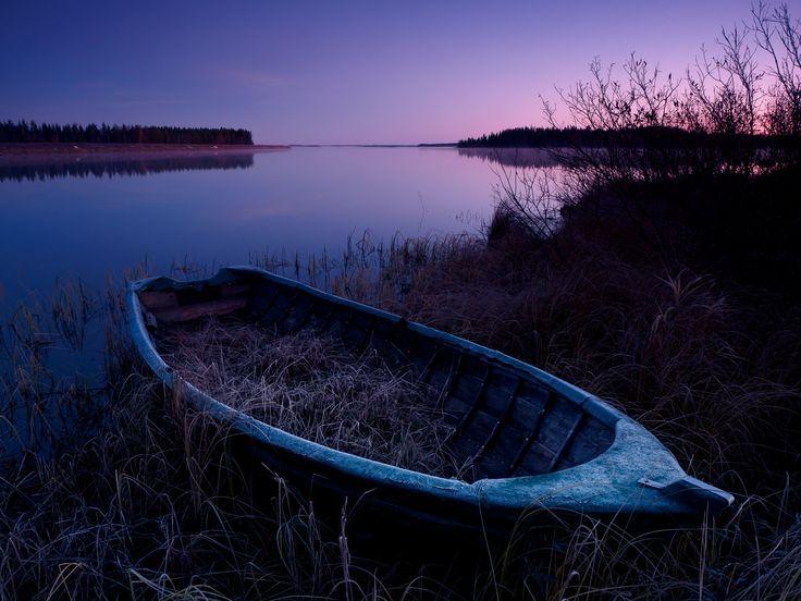 Hirvijärvi lake in Seinäjoki, South Ostrobothnia province of Western Finland. - Etelä-Pohjanmaa.