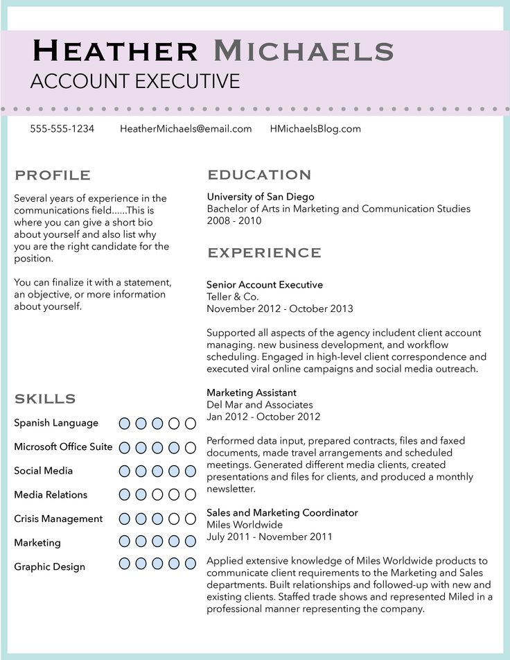 17 best images about resume ideas on pinterest best