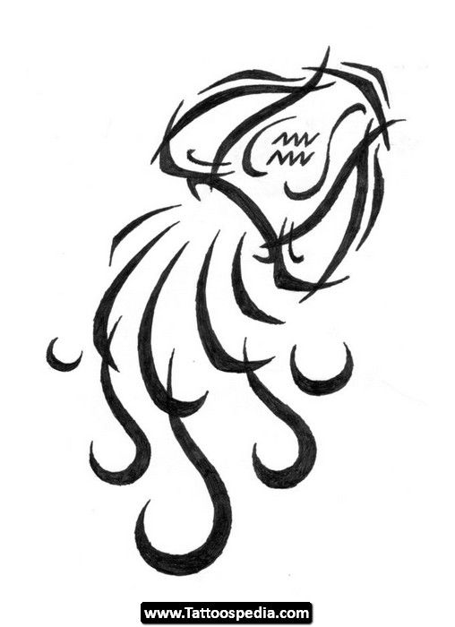Aquarius Tattoo Design Baruu Aquarius Tattoo Tattoos Zodiac