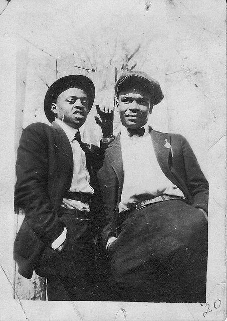 Afro American Men 1920s by Climbing Kilimanjaro, via Flickr