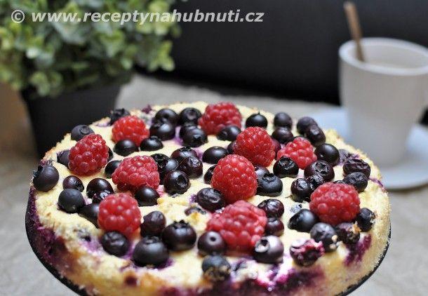 Tvarohovo ovocný dort