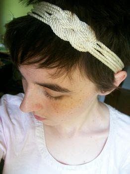 Knotted Hair Band