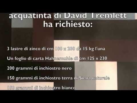 Stamperia darte Albicocco - East acquatinta David Tremlett
