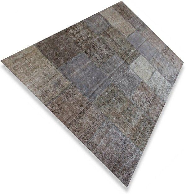 Grijs Vintage karpet 3X2