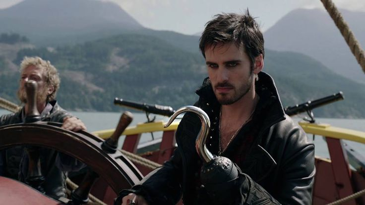 """""""A man unwilling to fight for what he wants, deserves what he gets."""" ~ Killian  Jones/Captain Hook, Once Upon a Time........                  """"The most common way people give up their power is by thinking they don't have any."""" ~ Alice Walker.........                  Photography: Once Upon a Time, Colin O'Donoghue as Killian Jones/Captain Hook"""