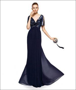 Vestido de fiesta modelo Zugar - Colección Madrina - Pronovias 2013 - Pronovias   Moda boda   Organizar boda   La Boda del Año