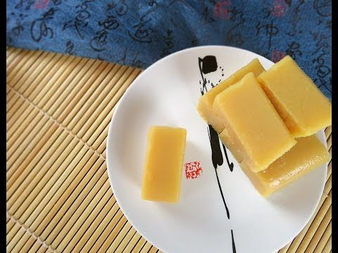 宫廷点心老北京小吃豌豆黄 Wan-dou-huang Beijing Sweet pease pudding|Two ingredients [...