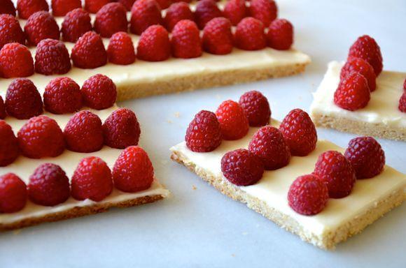 American Flag Cookie Cake #recipe