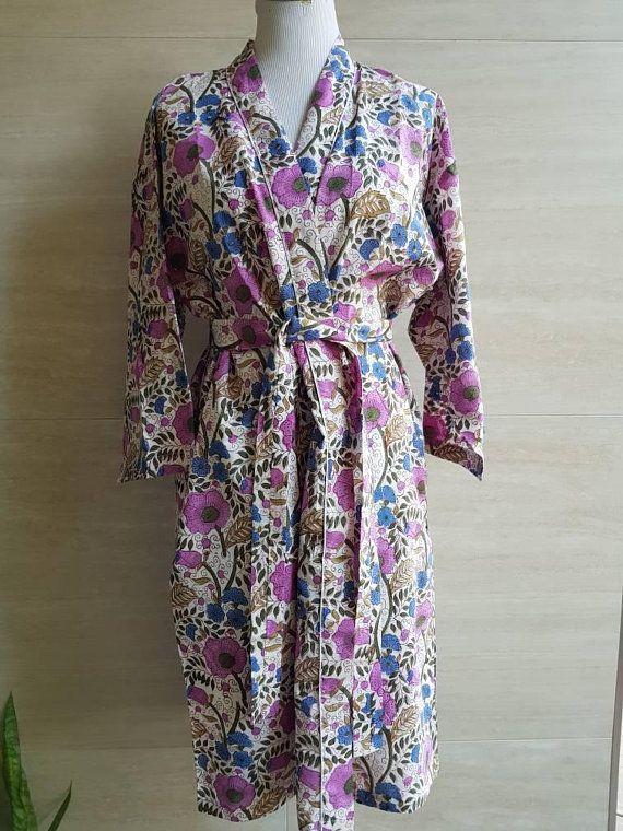 Check out this item in my Etsy shop https://www.etsy.com/au/listing/586567884/cotton-robe-kimono-wedding-bridesmaid