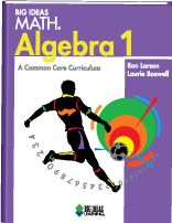 Middle School Common Core Math - Big Ideas Math: Algebra 1 (8th grade Algebra)