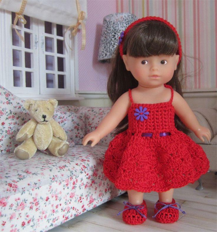 94- FICHE PATRON Tenue Chloé au crochet pour poupée Mini Corolline : Jeux, jouets par atelier-crochet
