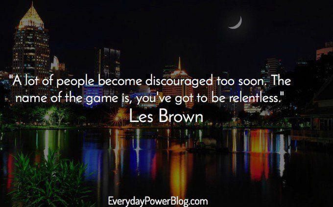 Les Brown quotes
