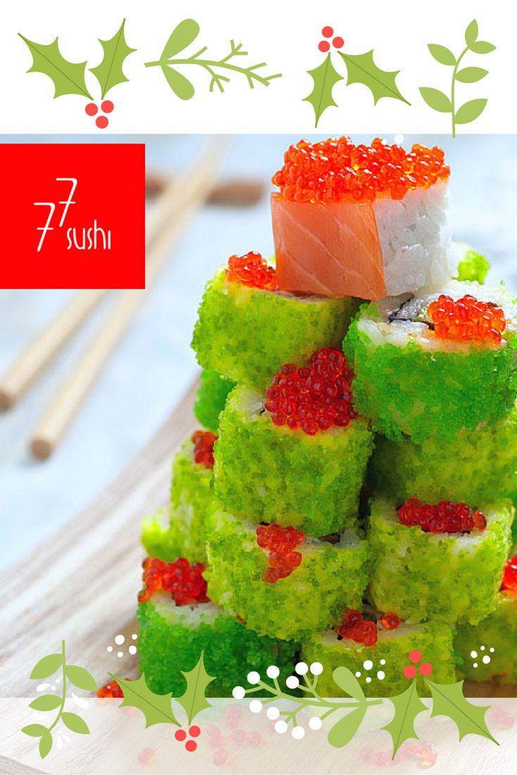 A co powiecie na taką choinkę w Święta? :) #77sushi