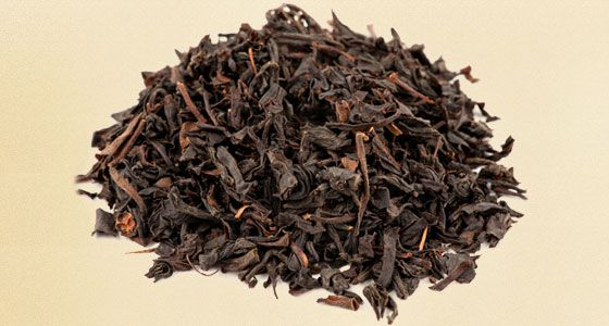 Russian Caravan Tea - A blended black tea with oolong, keemun, and lapsang souchong. When compared against its smokier cousin, lapsang, Russian Caravan has an almost floral aftertaste if lightly steeped.