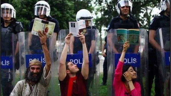 Turkey's genuine Occupy movement. Happening right now in Gezi Parkı, Taksim, İstanbul #DirenGeziParkı   Erkan Saka   Social Network Unionism #read #books