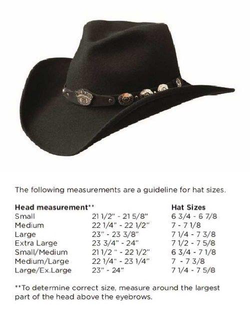 806c6f5f2ef Jack Daniel s Hats 100% Wool Satin Lined Western Cowboy Hat (Large ...