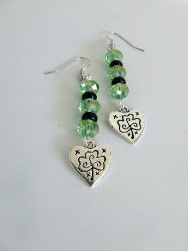These adorable St. Patricks Day earrings
