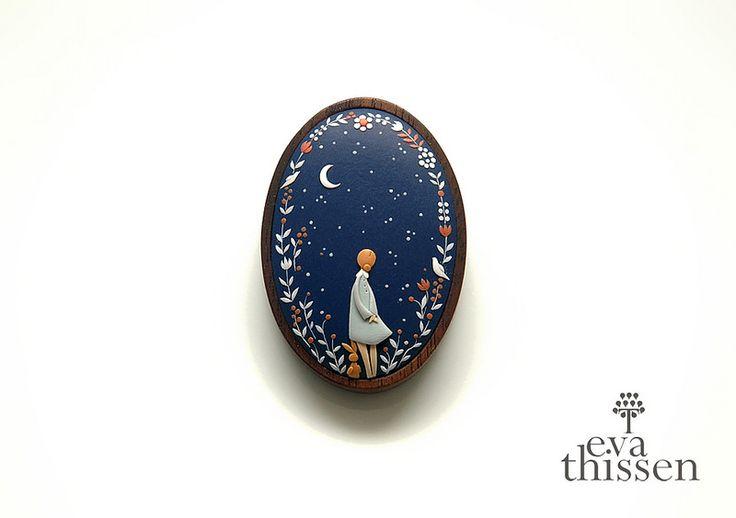 Starry Night brooch | by Eva Thissen Gallery