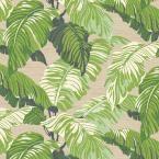 Plantation Patterns, LLC Fern Tropical Outdoor Dining Chair Cushion (2-Pack)