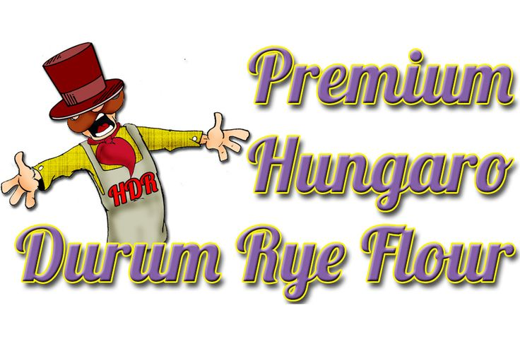 PREMIUM QUALITY HUNGARO DURUM RYE FLOUR: During producing our premium quality flour we choose those Hungaro durum rye grains which have the most excellent features and the highest gluten content- after that we mill them much smoother than the average wheat flour. This kind of flour - like the others - is free from any kind of additives, stabilizers and has excellent nutritional physiological effect.